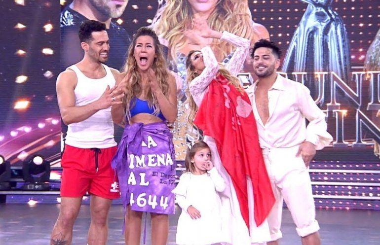 Jimena Barón y Mauro Caiazza son los segundos finalistas del Bailando