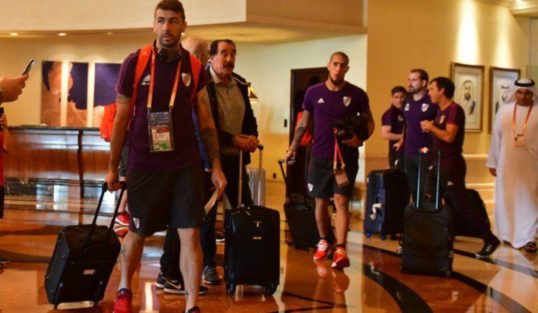 River ya está en Abu Dhabi para disputar el partido por el tercer y cuarto puesto
