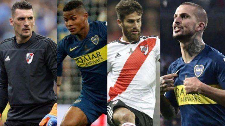 La Conmebol publicó el equipo ideal de la Copa Libertadores elegido por el público