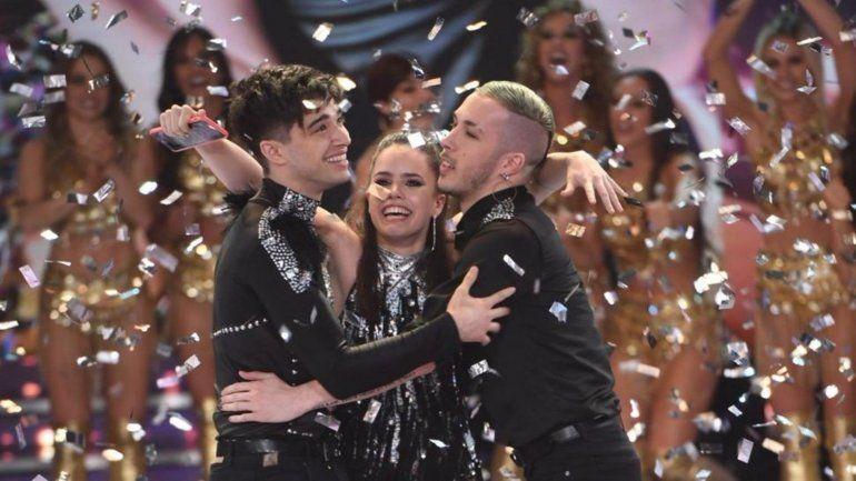 Sofía Morandi y Julián Serrano son los ganadores del Bailando 2018