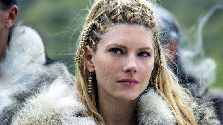 ¡Lagertha en Argentina! La reina de Vikingos sorprendió a todos con su visita al país