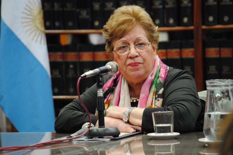 Clara de Falcone fue reelegida como presidente del Superior Tribunal de Justicia
