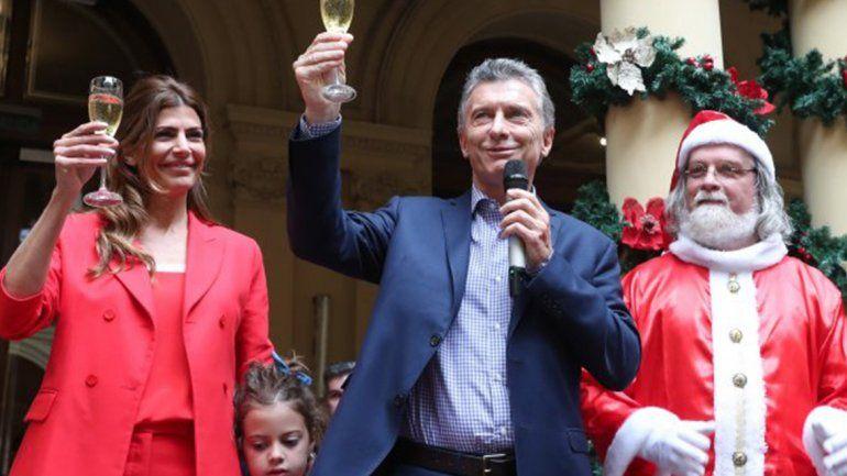 El presidente Mauricio Macri envió su mensaje de Navidad