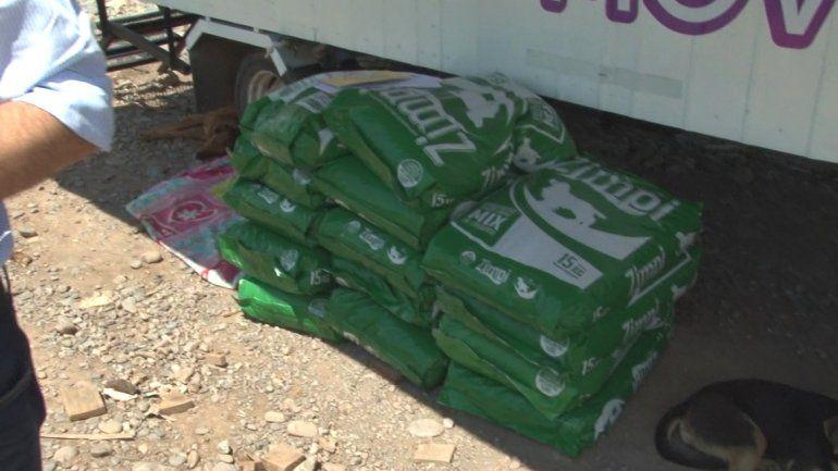 Entregaron más de 200 kilos de alimentos para el Hogar San Roque