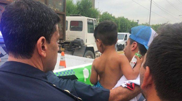 Imputaron por abuso sexual a quien secuestró a Kimey, el nene que estuvo desaparecido por más de 20 horas