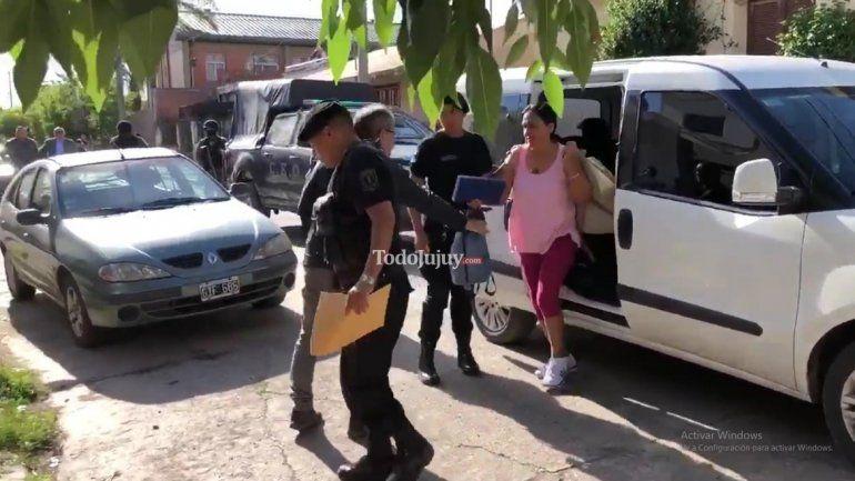 Milagro Sala fue trasladada a su domicilio de barrio Cuyaya