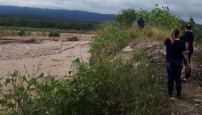 Precaución en los ríos