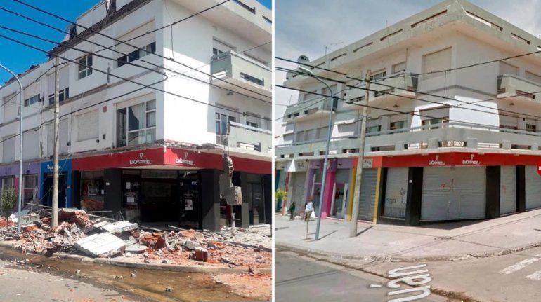 Derrumbe en Mar del Plata: así fue el momento de la tragedia que dejó dos muertos