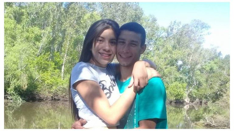 Última foto de Bianca y su pareja