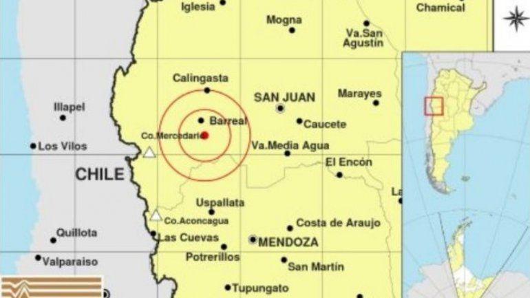 Un sismo hizo temblar San Juan y sacudió también Mendoza