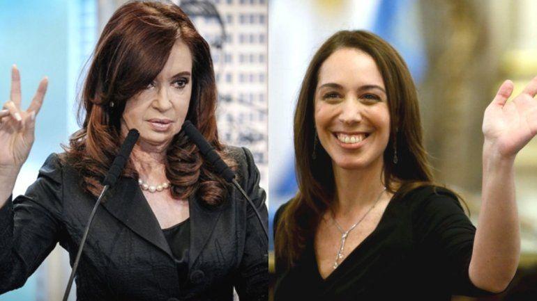 Cristina Kirchner vs Maria Eugenia Vidal por la gobernación de Buenos Aires, el rumor más fuerte