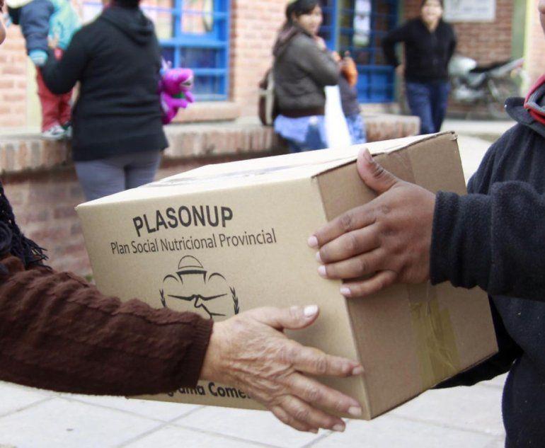 Reprogramaron la entrega de mercadería del Plasonup por el alerta de tormentas en Jujuy