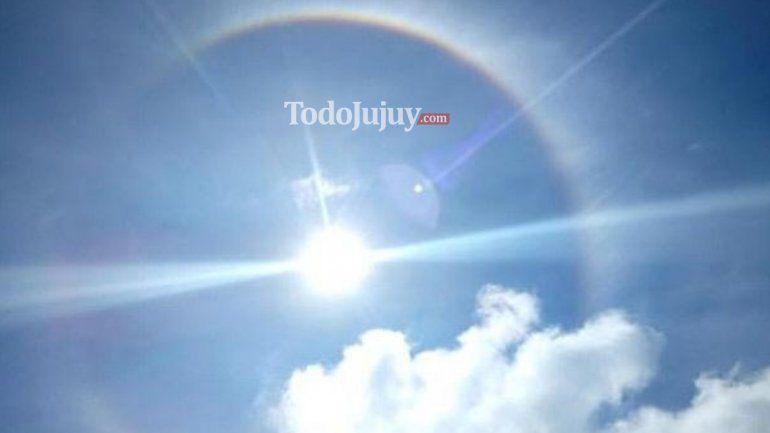 halo solar en Jujuy