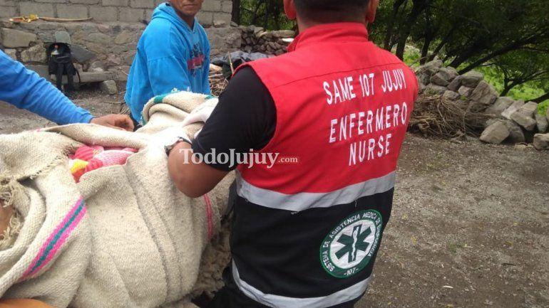 Los Corrales: mujer de 78 años fue rescatada con síntomas de deshidratación