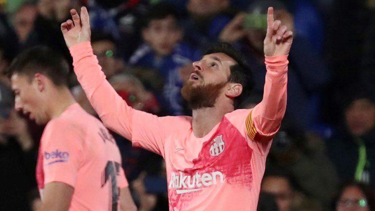 Los hinchas eligieron a Messi en el 11 ideal de Europa