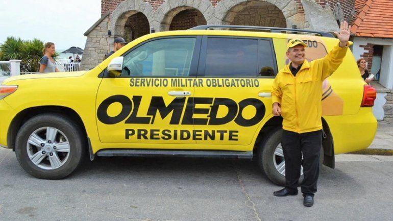 Olmedo lanzó su campaña y propuso servicio militar obligatorio para quienes no estudian ni trabajan