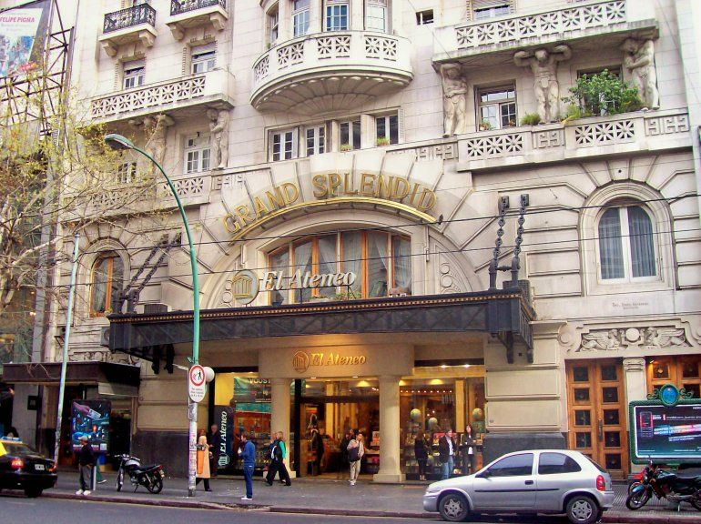 En los ojos del mundo: la librería Ateneo Grand Splendid es considera la más linda del mundo