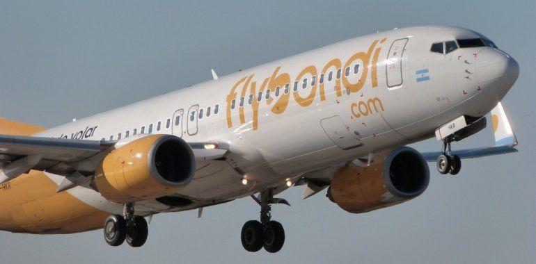 Autorizaron a los empleados de Flybondi a tener su propio sindicato