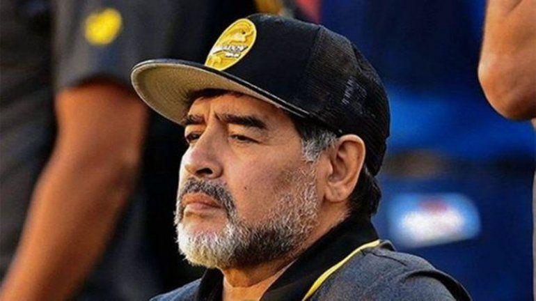 Maradona le mandó un mensaje de apoyo a Mora: Peleala como la peleé yo