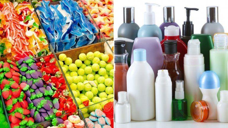 La ANMAT prohibió la venta de una marca de golosinas y varios productos cosméticos