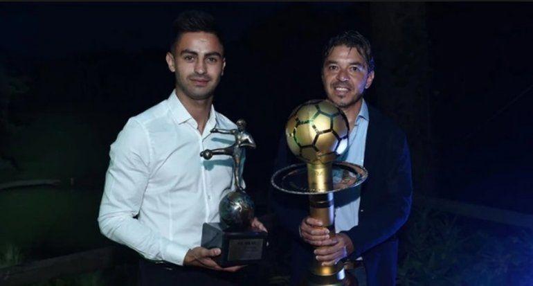 Marcelo Gallardoy el Pity Martínez fueron elegidos como los mejores de América