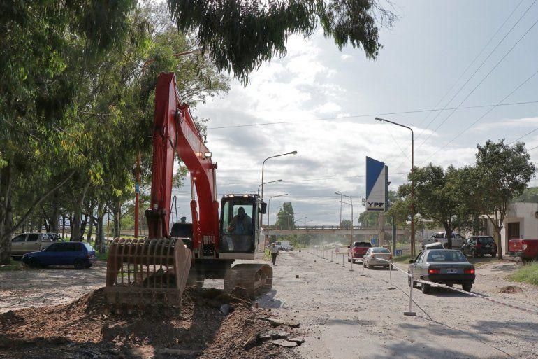 Iniciaron las obras de reparación en el acceso a Palpalá por Río Blanco