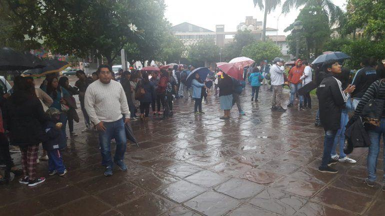 Jujuy también se sumó a la protesta a nivel nacional en contra de los tarifazos