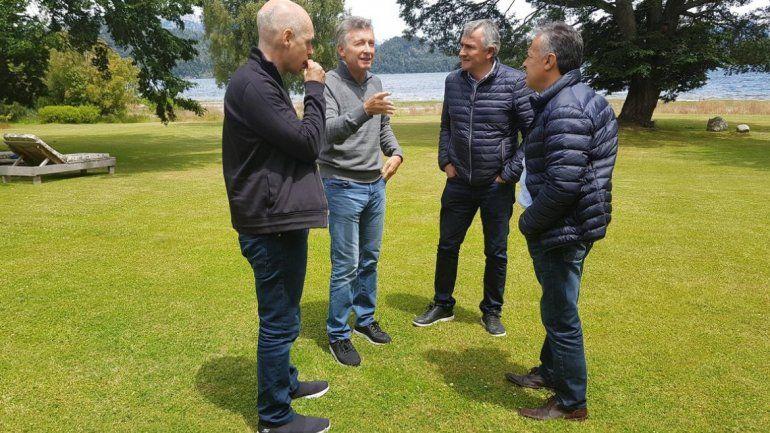 Macri se reunió con Morales, Cornejo y Rodríguez Larreta para unificar las elecciones
