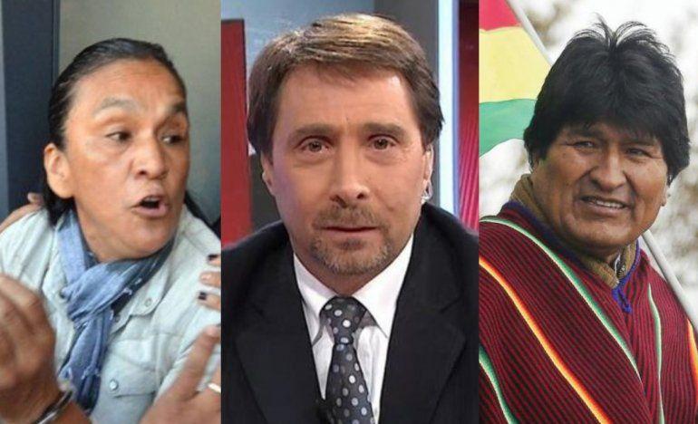 Evo Morales defendió a Milagro Sala y Feinmann salió al cruce: Llévela a robar a Bolivia