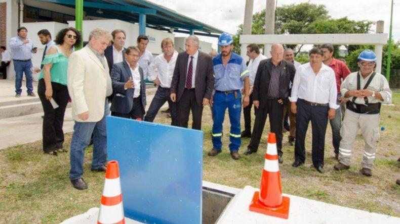 Aguas Calientes y Puesto Viejo: inauguraron una planta potabilizadora