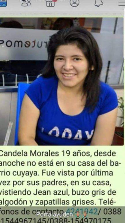 Buscan desesperadamente a Candela, una chica de 19 años que desapareció en Cuyaya