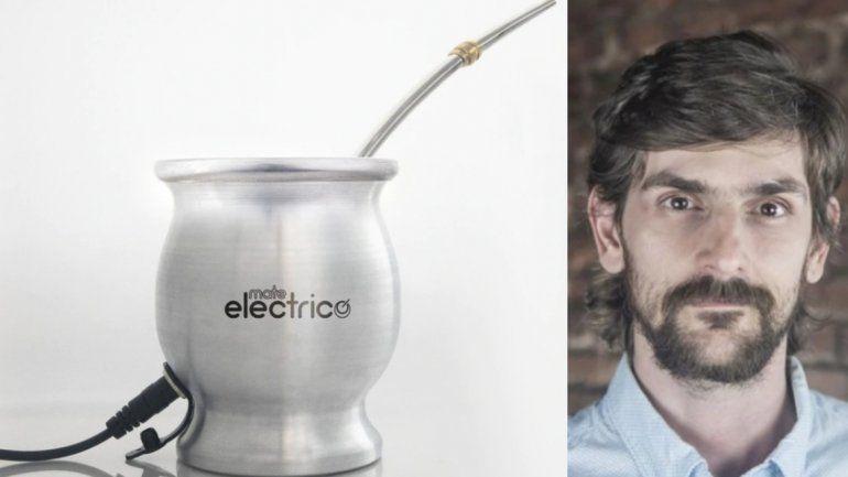 Invento e ingenio argentino: creó un mate electrónico para que la yerba no se lave ni se enfríe