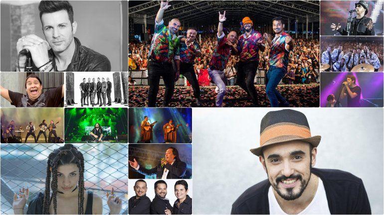 ¡Grilla confirmada para el Carnaval de Los Tekis! Mirá quién está cada noche