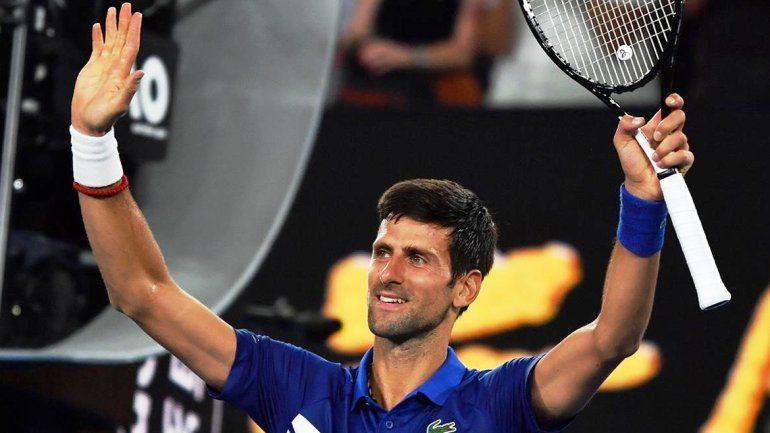 Millonaria donación de Djokovic para combatir el coronavirus