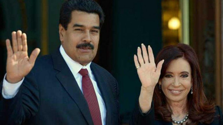 El Kirchnerismo salió a bancar a Maduro