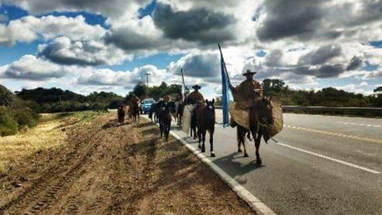Gauchos jujeños se preparan para la Marcha Evocativa y Patriótica hacia Humahuaca