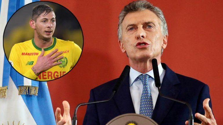 Búsqueda de Emiliano Sala: Macri pidió a Francia e Inglaterra que reanuden la investigación
