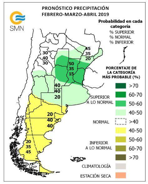 Pronostico trimestral: Jujuy tendrá temperaturas superiores a lo normal durante febrero, marzo y abril