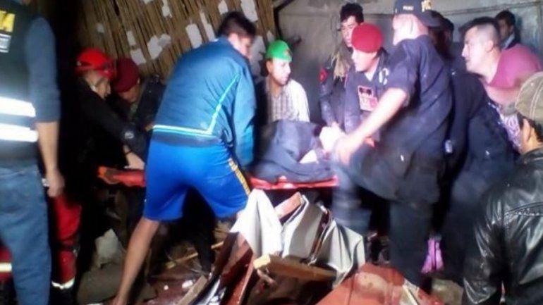 Una pared se derrumbó en pleno casamiento: murieron 15 personas y hay 29 heridos