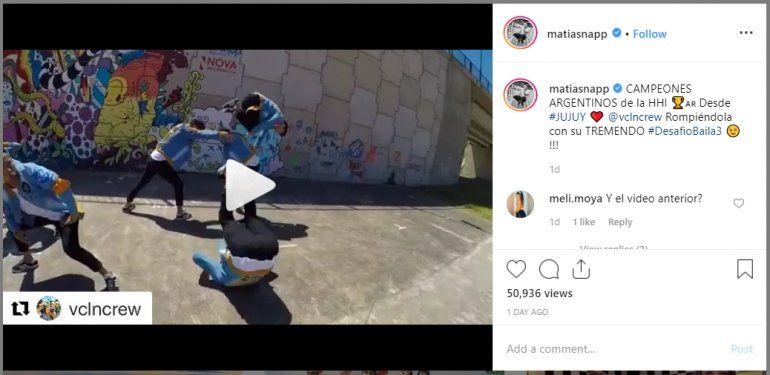 Los campeones argentinos de Hip Hop son jujeños y se suman al desafío de Matías Napp