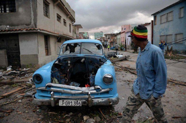 Fuerte tornado en Cuba deja tres muertos y 172 heridos