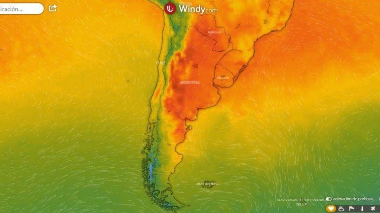 Enero al rojo vivo: el primer mes del año registró térmicas que superan los 40 grados en varios puntos del país