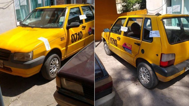 Un taxista manejó a contramano en la ruta, le secuestraron el auto y le retendrán la licencia