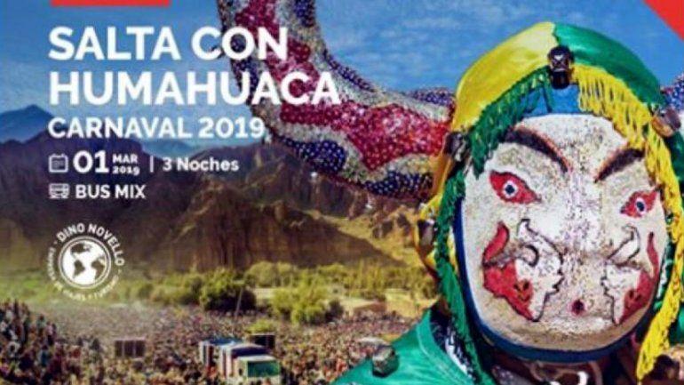 Una más ¿y van? Empresas turísticas promocionan Salta con fotos de Jujuy