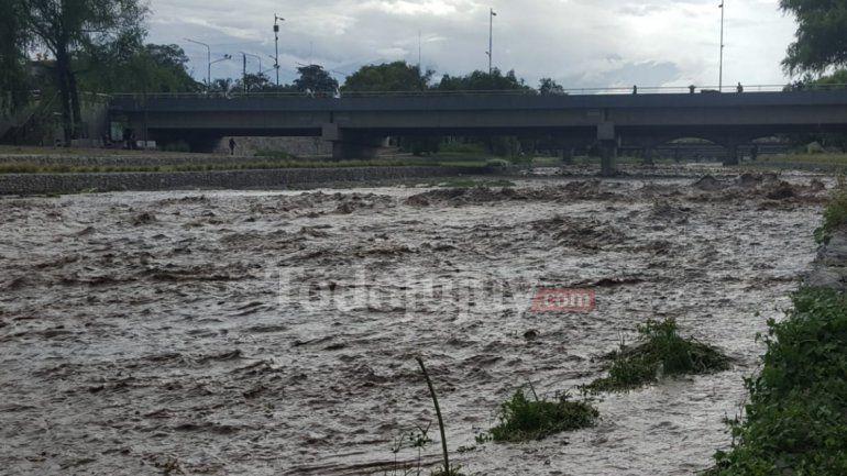 Recomendaciones ante posible crecida del río en el parque Xibi Xibi