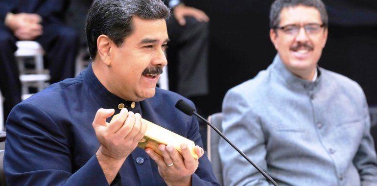 Maduro comienza a vender oro a Emiratos Árabes para financiar al régimen
