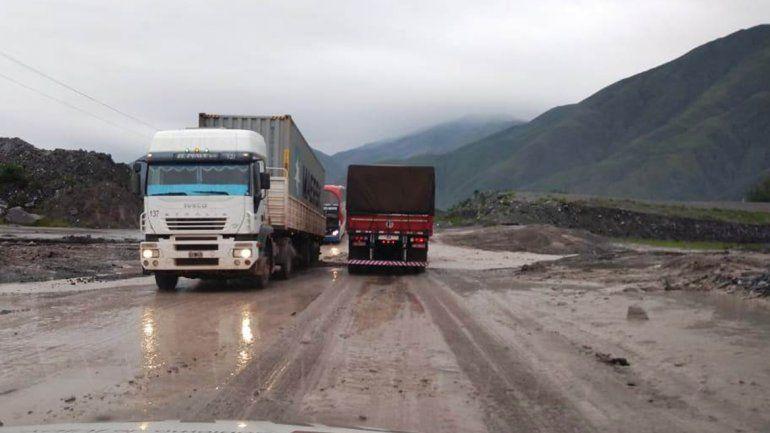 Habilitaron el paso de vehículos en ruta 9 a la altura de la Quebrada de los Filtros