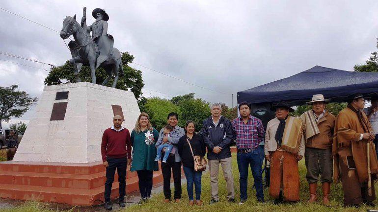 Gauchos jujeños participaron del homenaje a Jorge Cafrune