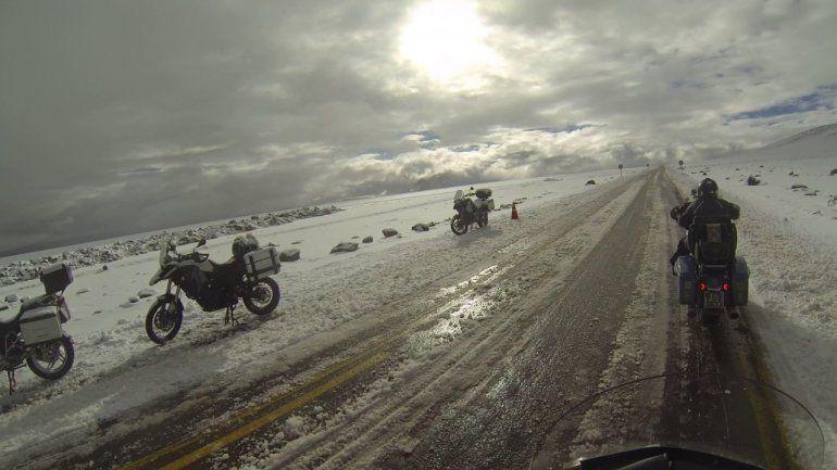 Habilitaron el Paso de Jama después de varios días cerrado por la acumulación de nieve