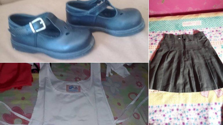 Cuidando el bolsillo: ofrecen uniformes en un grupo de facebook para hacer frente al inicio de clases
